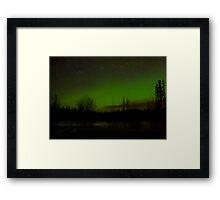 Happy New Year Auroras ... Framed Print