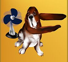A Fan Of Bassets by Lotacats