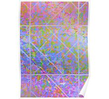 Colorful Marble Texture Poster