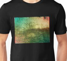 Moire Shrubbery (Inverted) Unisex T-Shirt
