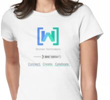 Women Techmakers Powered by GDG Denver Womens Fitted T-Shirt