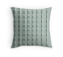 GREEN ABSTRACT - AVAILABLE IN THROW PILLOWS Throw Pillow