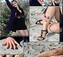 Collage Female by Leta Davenport