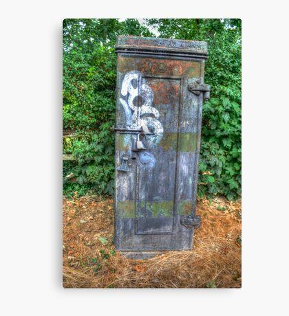 Telephone Junction Box Canvas Print