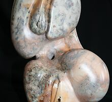 Germination 3 steatite by Hans  Nielsen