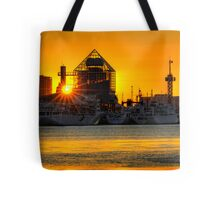 First sunrise of the New Year, 2009; Tokyo Bay, Japan Tote Bag