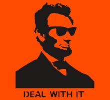 Cool Abe Lincoln - Deal With It (Clothing) by jaredcheeda
