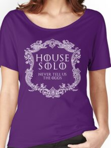 House Solo (white text) Women's Relaxed Fit T-Shirt