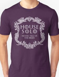 House Solo (white text) Unisex T-Shirt