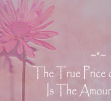 True Price Sticker