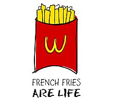 French Fries Are Life Photographic Print