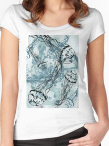 Jelly Cloud  Women's Fitted Scoop T-Shirt