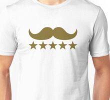 Mustache stars Unisex T-Shirt