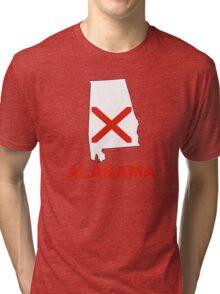 alabama state flag Tri-blend T-Shirt