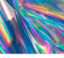 Pantone Hologram Designer Sticker Sticker