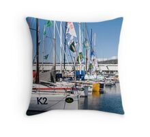Sydney to Hobart yachts 2008 Throw Pillow