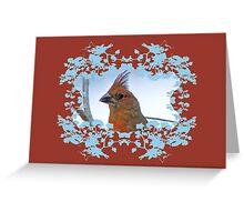 Northern Cardinal Greeting Card Greeting Card