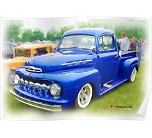 Nice old 48' Ford Truck Poster