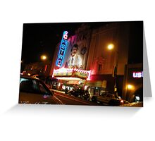 Castro Theater Greeting Card