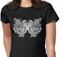 The Scream of the Butterfly Womens Fitted T-Shirt