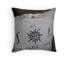The Sun Comes Out for Everyone Throw Pillow