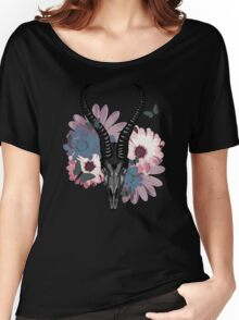 Antelope Skull Women's Relaxed Fit T-Shirt