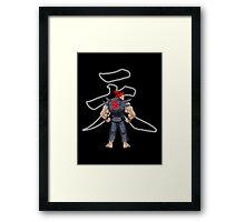Street Fighter Akuma Framed Print