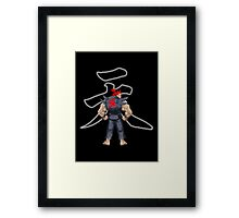 Street Fighter Akuma Framed Print