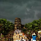 Ankor Wat Storm by oddoutlet