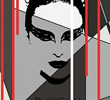 Black Swan Poster by Rachael Henderson