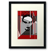 Black Swan Poster Framed Print