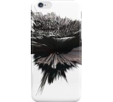 """""""artotem i"""" oil painting as a Spherical Depth Map. a iPhone Case/Skin"""