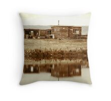 Bach on the Water Throw Pillow