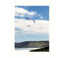 Paraglider Art Print