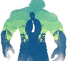 Hulk by Esteuan