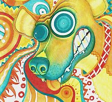 Chaotic Canine by SRowe Art