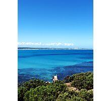 Cape Bridgewater Blue Photographic Print