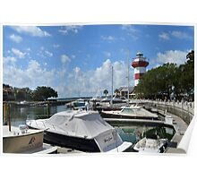 Harbour Town Lighthouse and Yacht Basin Poster