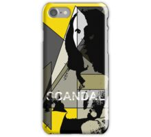 Scandal Poster iPhone Case/Skin