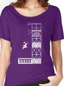 Steel Pier Diving Horses Women's Relaxed Fit T-Shirt