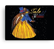 Tale as long as time (Beauty and the Beast) Canvas Print
