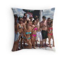 Fellow Partiers Throw Pillow