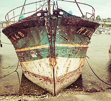 Vintage Fishing Boat by Joshua McDonough Photography