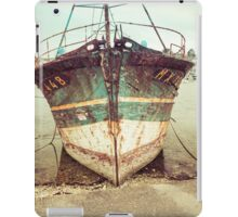 Vintage Fishing Boat iPad Case/Skin