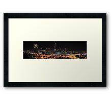 Perth from King's Park Framed Print