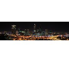 Perth from King's Park Photographic Print