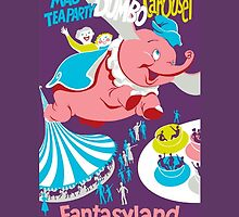 Fantasyland Attraction Poster by rachelgracey