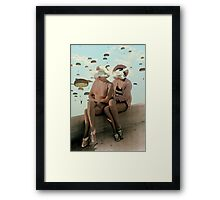 WOMEN. Framed Print