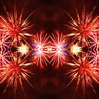 Reflections on Fireworks by Ken Fortie