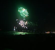 New Year's Eve at brighton Jetty, S.A. by elphonline